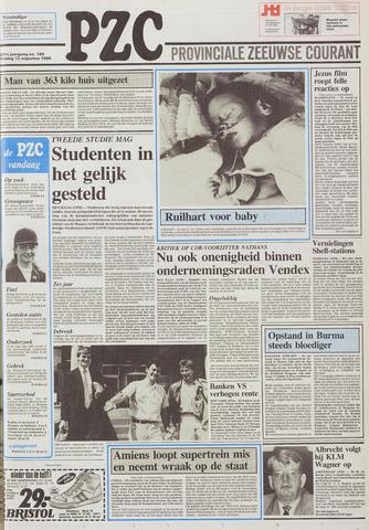 Provinciale Zeeuwse Courant 1988-08-12