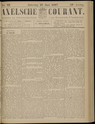 Axelsche Courant 1917-06-23