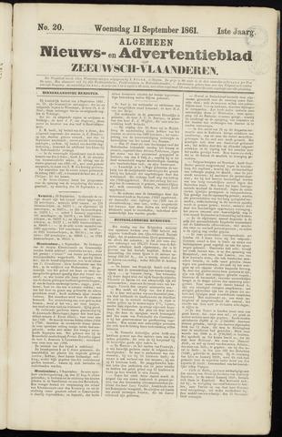 Ter Neuzensche Courant. Algemeen Nieuws- en Advertentieblad voor Zeeuwsch-Vlaanderen / Neuzensche Courant ... (idem) / (Algemeen) nieuws en advertentieblad voor Zeeuwsch-Vlaanderen 1861-09-11