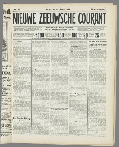 Nieuwe Zeeuwsche Courant 1915-03-18