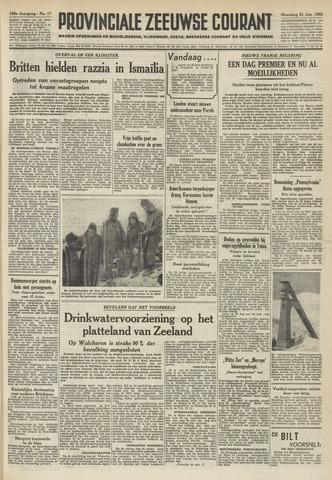Provinciale Zeeuwse Courant 1952-01-21