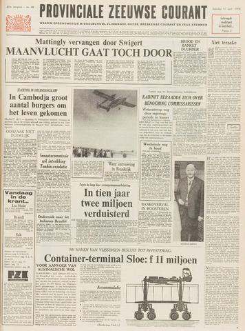 Provinciale Zeeuwse Courant 1970-04-11