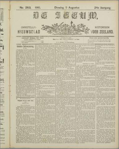De Zeeuw. Christelijk-historisch nieuwsblad voor Zeeland 1910-08-09