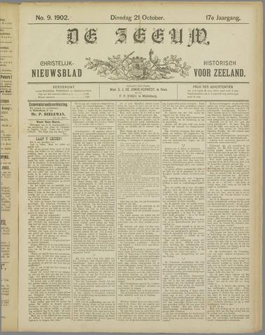 De Zeeuw. Christelijk-historisch nieuwsblad voor Zeeland 1902-10-21