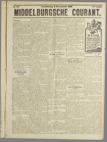 Middelburgsche Courant 1927-11-03