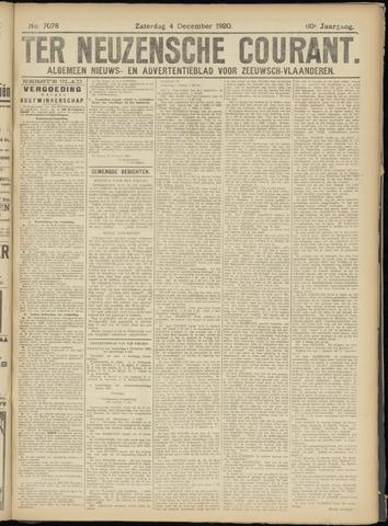 Ter Neuzensche Courant. Algemeen Nieuws- en Advertentieblad voor Zeeuwsch-Vlaanderen / Neuzensche Courant ... (idem) / (Algemeen) nieuws en advertentieblad voor Zeeuwsch-Vlaanderen 1920-12-04