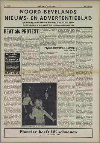 Noord-Bevelands Nieuws- en advertentieblad 1965-10-30
