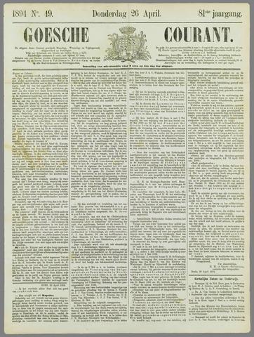 Goessche Courant 1894-04-26
