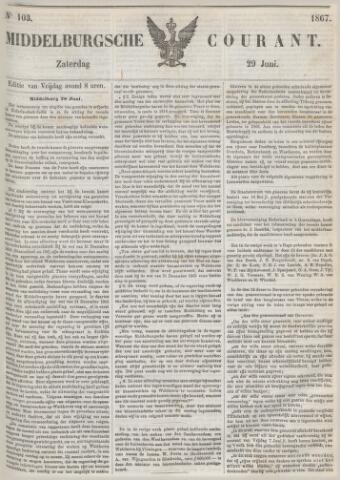 Middelburgsche Courant 1867-06-29