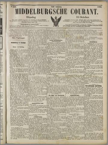 Middelburgsche Courant 1903-10-13
