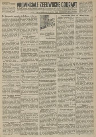Provinciale Zeeuwse Courant 1942-04-16