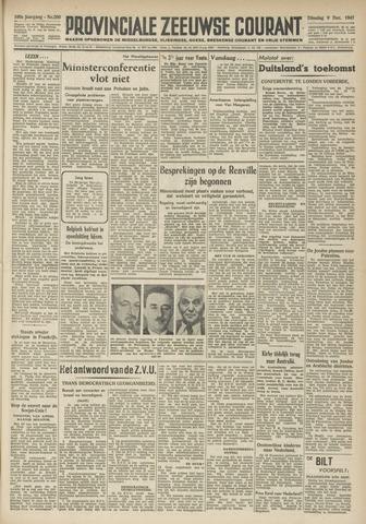Provinciale Zeeuwse Courant 1947-12-09