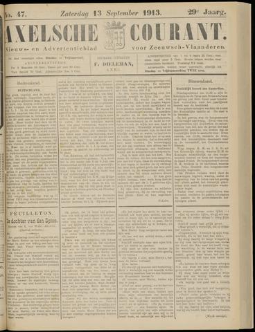 Axelsche Courant 1913-09-13