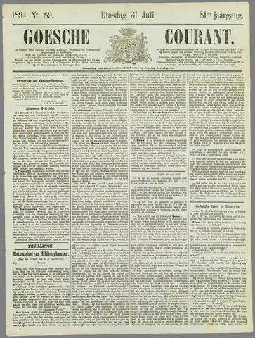 Goessche Courant 1894-07-31