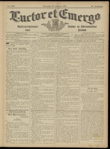 Luctor et Emergo. Antirevolutionair nieuws- en advertentieblad voor Zeeland / Zeeuwsch-Vlaanderen. Orgaan ter verspreiding van de christelijke beginselen in Zeeuwsch-Vlaanderen 1915-01-30
