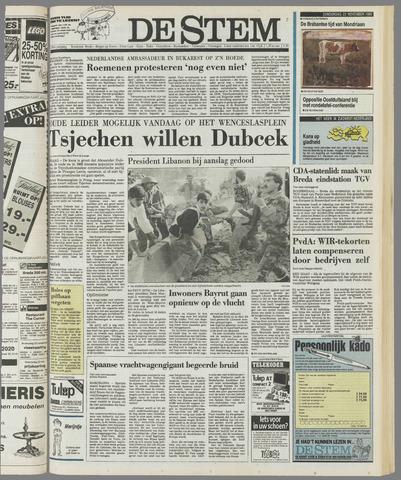 de Stem 1989-11-23