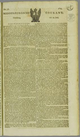 Middelburgsche Courant 1824-06-24