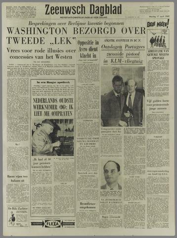 Zeeuwsch Dagblad 1962-04-17