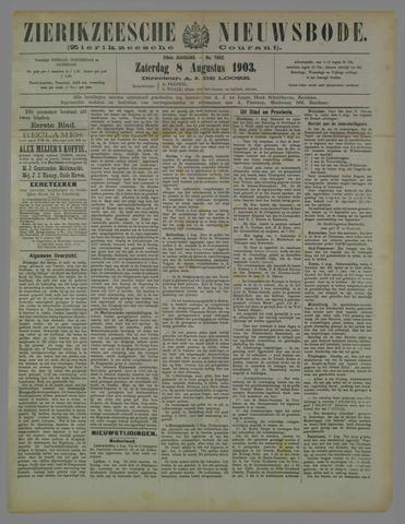 Zierikzeesche Nieuwsbode 1903-08-08