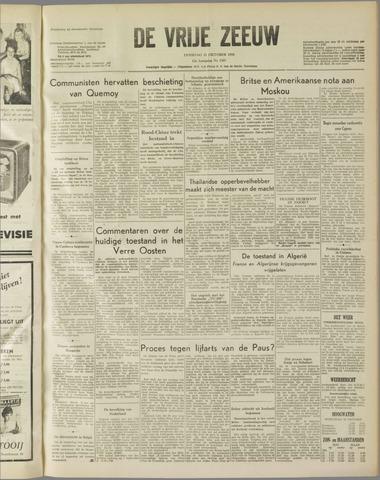 de Vrije Zeeuw 1958-10-21