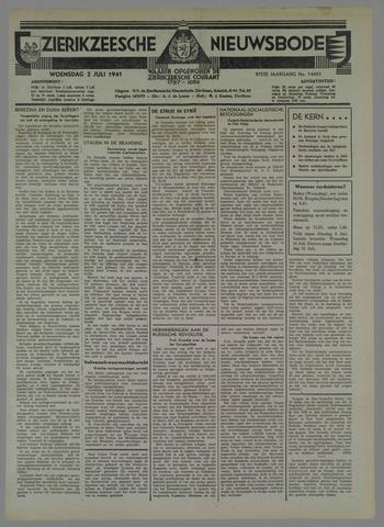 Zierikzeesche Nieuwsbode 1941-07-05