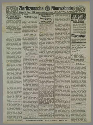 Zierikzeesche Nieuwsbode 1934-09-28