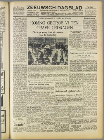 Zeeuwsch Dagblad 1952-02-16