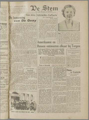 de Stem 1945-04-28