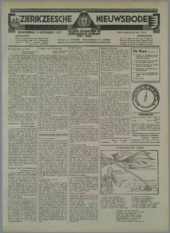 Zierikzeesche Nieuwsbode 1937-09-09