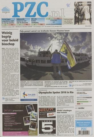 Provinciale Zeeuwse Courant 2009-10-03