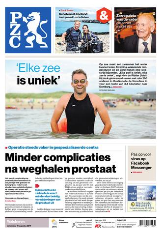Provinciale Zeeuwse Courant 2017-08-10