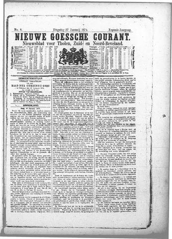 Nieuwe Goessche Courant 1874-01-27