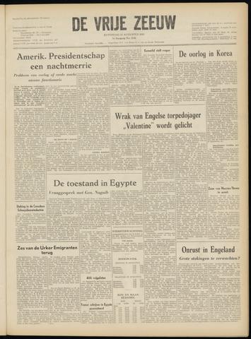 de Vrije Zeeuw 1952-08-23