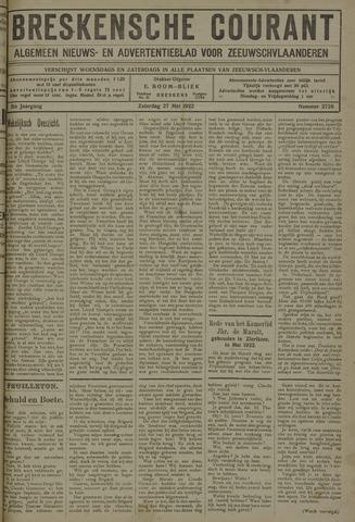 Breskensche Courant 1922-05-27