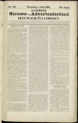 Ter Neuzensche Courant. Algemeen Nieuws- en Advertentieblad voor Zeeuwsch-Vlaanderen / Neuzensche Courant ... (idem) / (Algemeen) nieuws en advertentieblad voor Zeeuwsch-Vlaanderen 1864-06-01