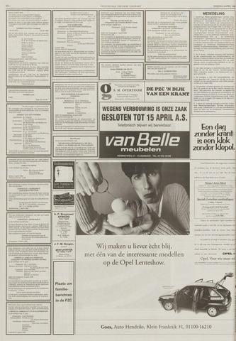 Provinciale Zeeuwse Courant | 4 april 1995 | pagina 20