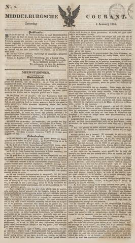 Middelburgsche Courant 1834-01-04