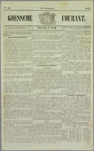 Goessche Courant 1859-06-06
