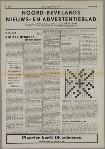 Noord-Bevelands Nieuws- en advertentieblad 1973-10-18