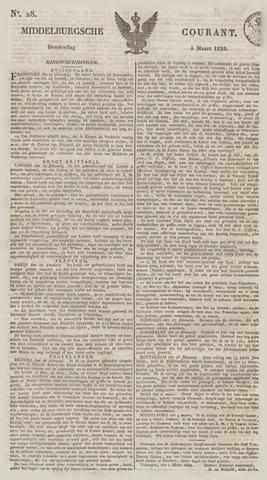 Middelburgsche Courant 1829-03-05