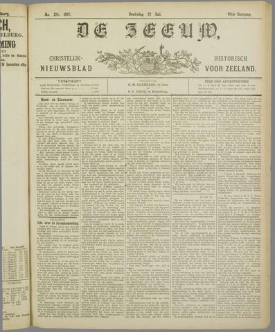 De Zeeuw. Christelijk-historisch nieuwsblad voor Zeeland 1897-07-22