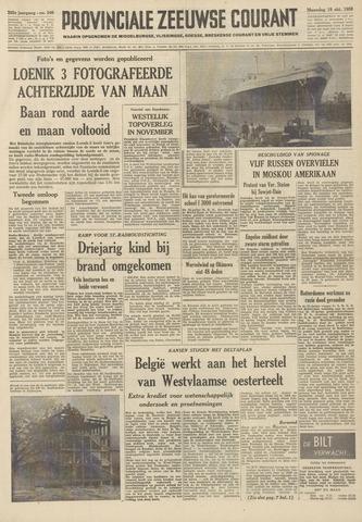 Provinciale Zeeuwse Courant 1959-10-19