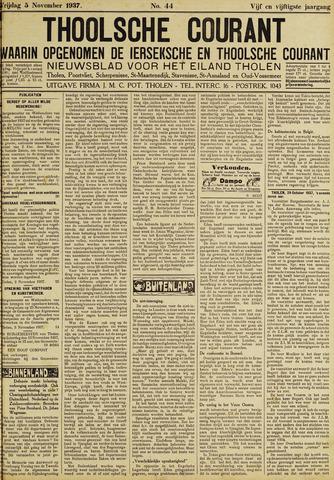 Ierseksche en Thoolsche Courant 1937-11-05