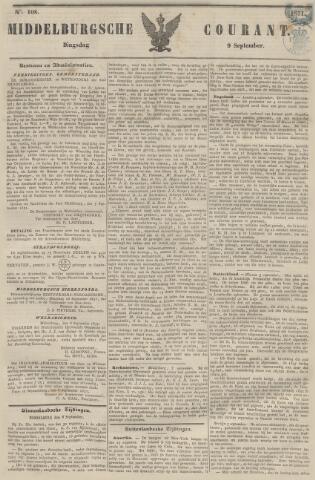 Middelburgsche Courant 1851-09-09