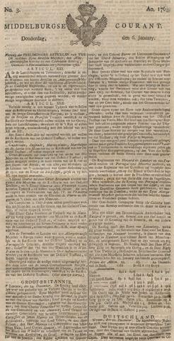 Middelburgsche Courant 1763-01-06