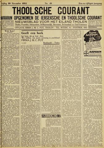 Ierseksche en Thoolsche Courant 1934-11-30