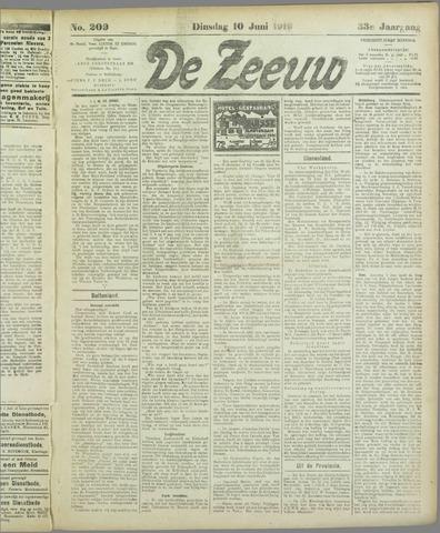 De Zeeuw. Christelijk-historisch nieuwsblad voor Zeeland 1919-06-10