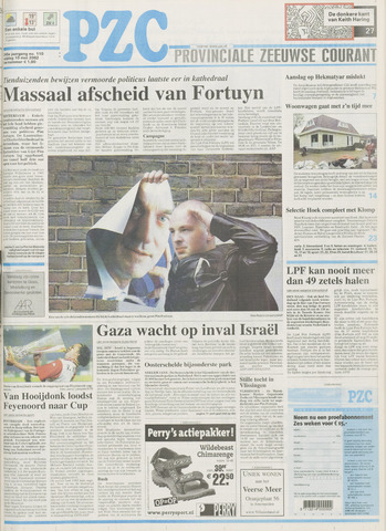 Provinciale Zeeuwse Courant 2002-05-10