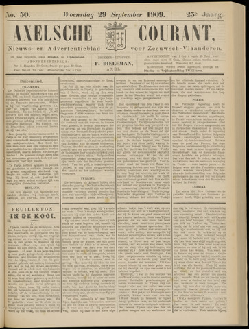 Axelsche Courant 1909-09-29