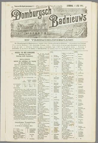 Domburgsch Badnieuws 1914